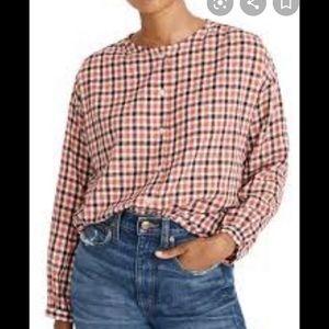 Madewell oversize cotton long sleeve size xs EUC